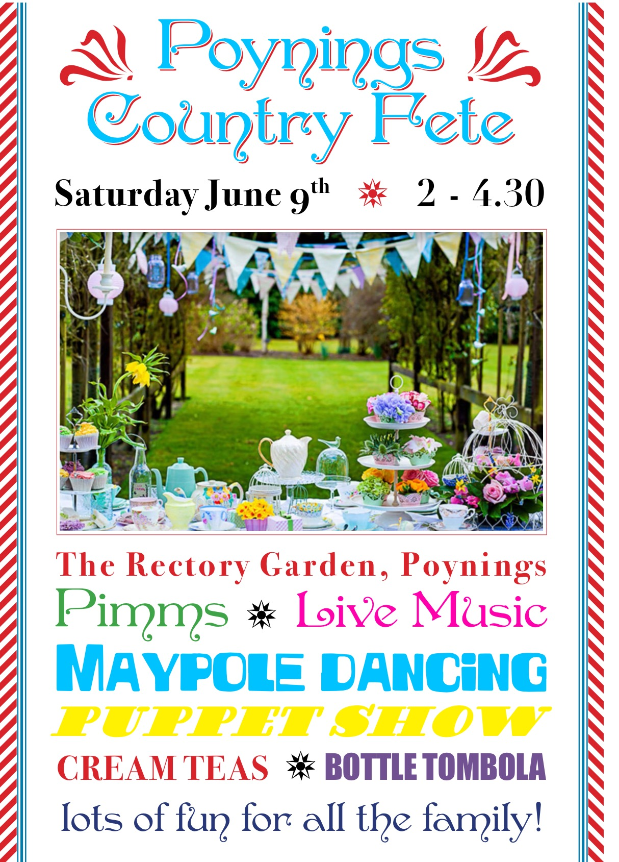 Poster Poynings fair